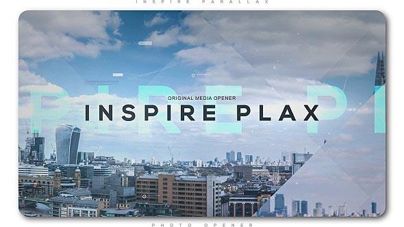 Videohive Inspire Parallax Photo Opener 20829162