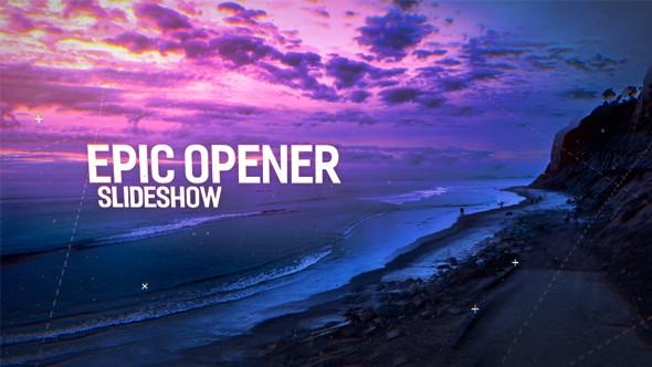 Videohive Epic Opener Slideshow 19324281