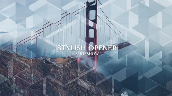 Videohive Stylish Opener - Slideshow 13080299