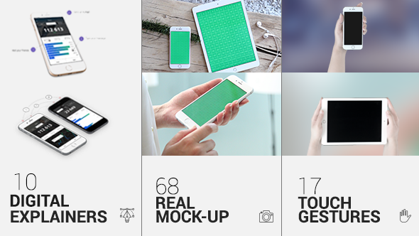 Videohive iTouch 2 | App Promo Mock-Up Kit 11589383