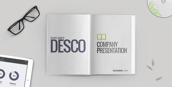 Videohive Desco Company Presentation 6517002