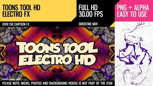 Videohive Toons Tool HD (Electro FX) 21202459