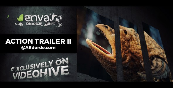 Videohive Action Trailer II 12618514
