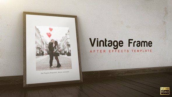 Videohive Vintage Frame Gallery 3786825