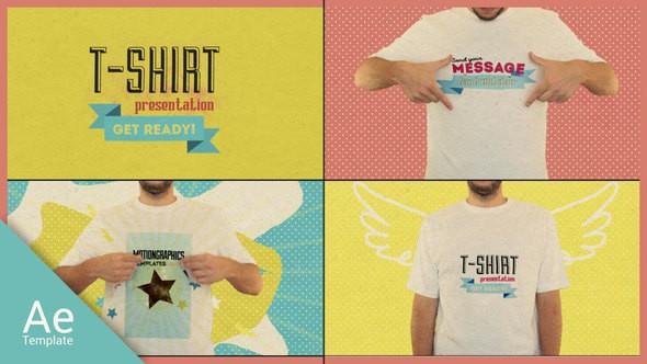 Videohive T Shirt Opener 15488015