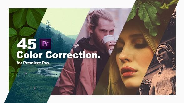 Videohive Color Correction & Color Grading Presets for Premiere Pro 21777710