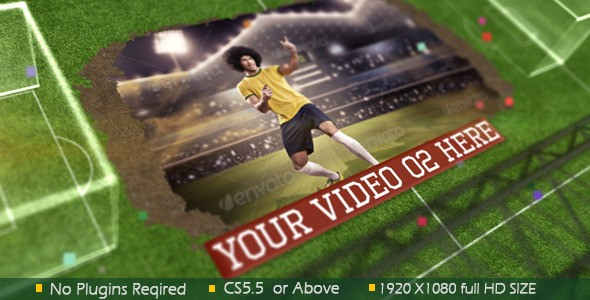 Videohive Road to Football 7940209
