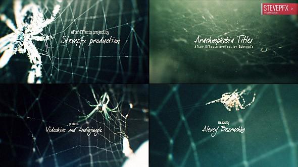 Videohive Arachnophobia Titles 17664824