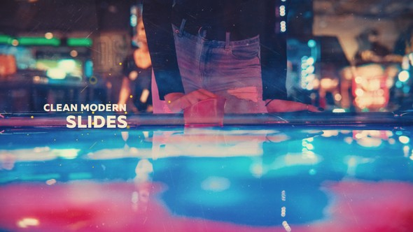 Videohive Clean Modern Slides 21803260