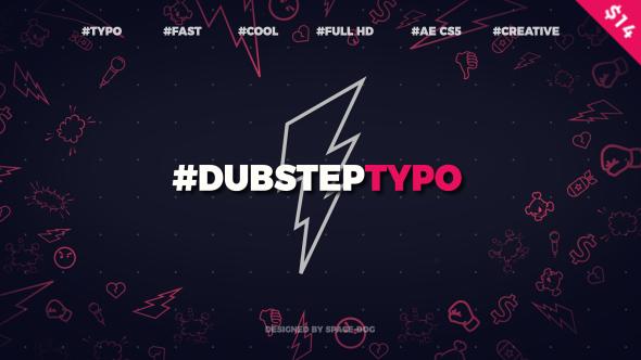 Videohive Dubstep Typography (opener) 20028317