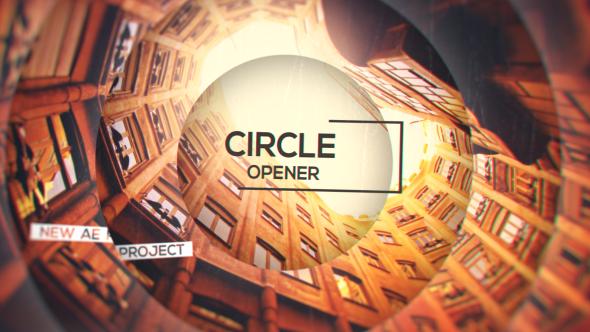 Videohive Circle Opener 15186453