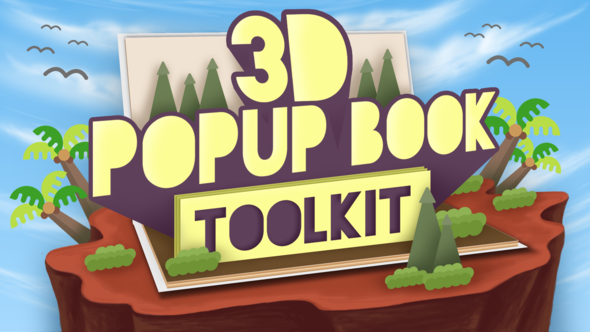 Videohive D Popup Book Toolkit - Apple Motion & Final Cut Pro X 21241919