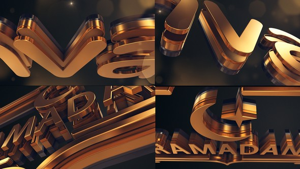 Videohive Gold Logo Reveal 21860786
