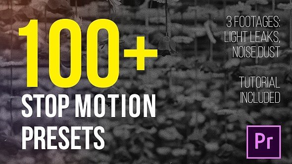 Videohive Stop Motion Presets 21662972 - Add ons