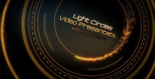 Videohive Light Circles 785984