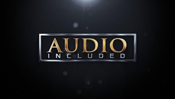 Videohive Elegant Metallic Logo 21755379