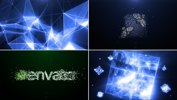 Videohive Plexus of particles 22177744