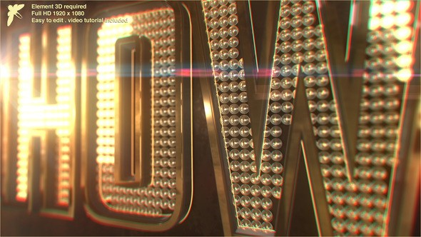 Videohive Showbiz Logo 22237616