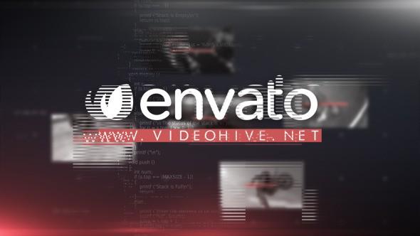 Videohive Prime Glitch Intro 11666729