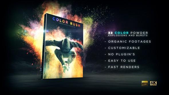 Videohive Color Rush 21797269