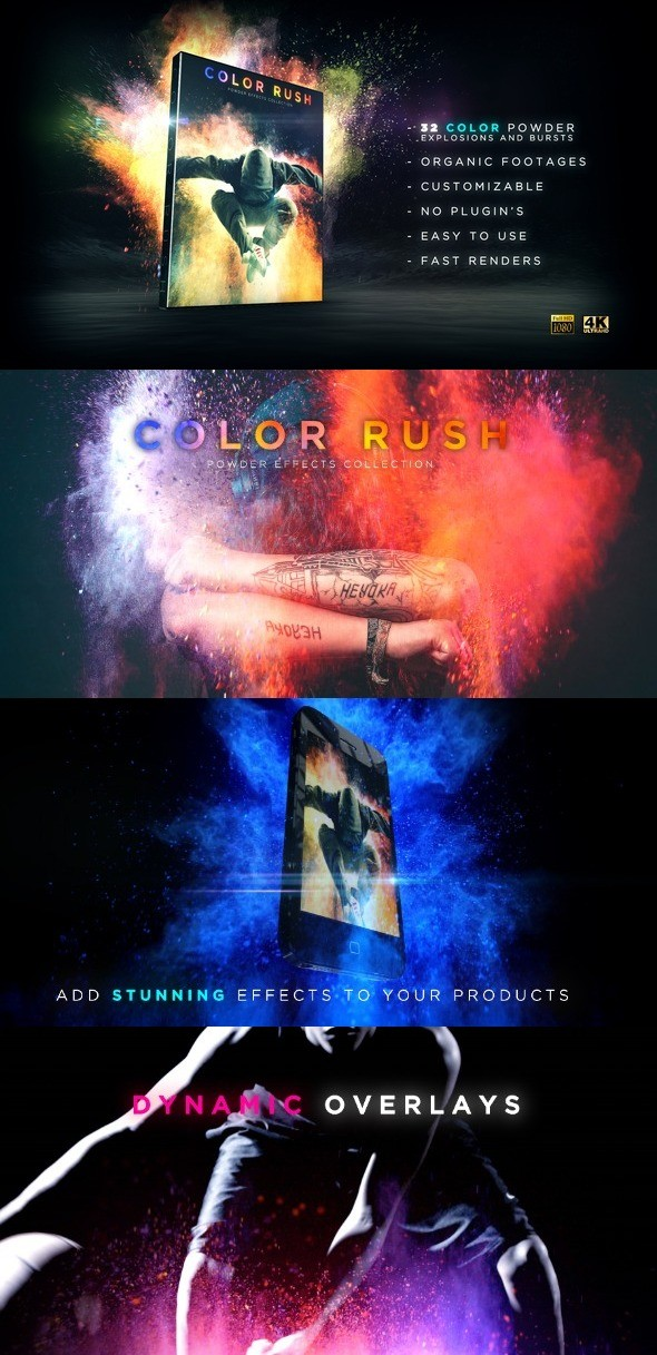 Videohive Color Rush 21797269