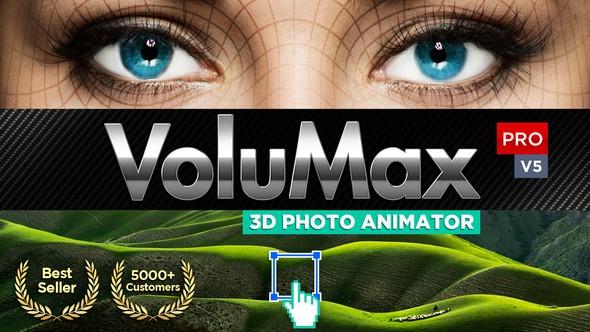 Videohive - VoluMax - 3D Photo Animator V5.2 - 13646883 (Updated 16 July 18)