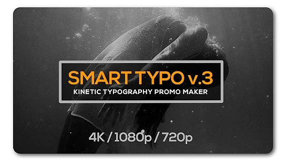 Videohive Smart Typography Opener 19638547