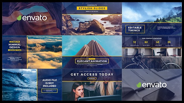 Videohive Stylish Slides and Titles 19134151