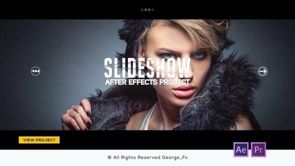 Videohive Glitch Slideshow 22004865 - Ae & Pr