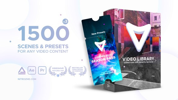Videohive Video Library - Video Presets Package V3 21390377