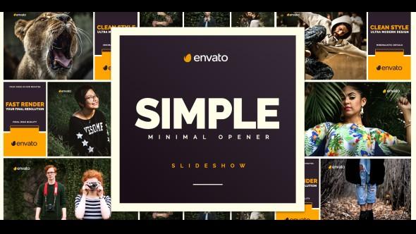 Videohive Simple Opener 20449531