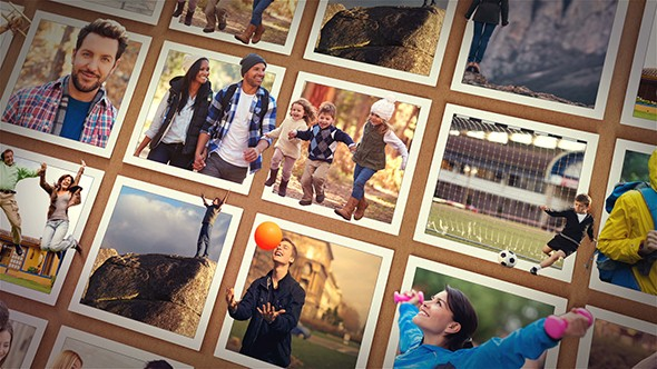 Videohive Out of the Frame - Photo Slideshow 20405789