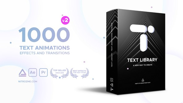 Videohive Text Library - Handy Text Animations 21932974