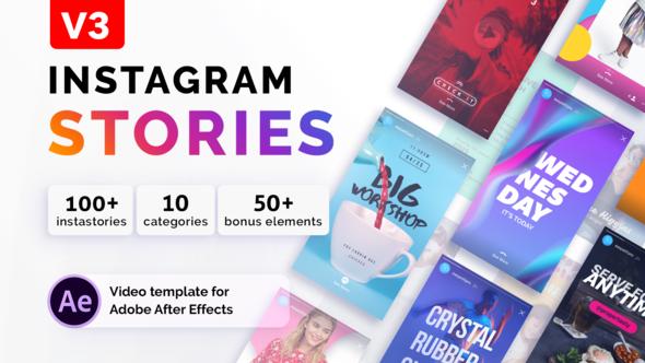 Videohive Instagram Stories V3 21850927