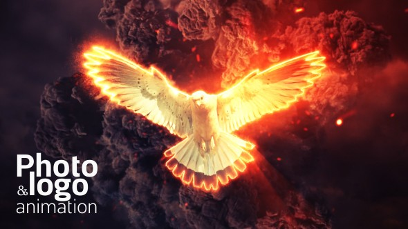 Videohive Fire Explosion Logo & Photo Animation 19660498