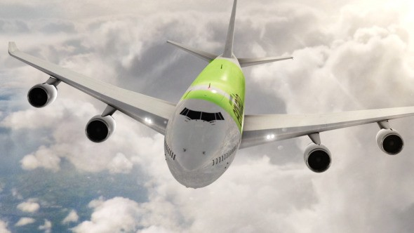 Videohive Airplane Branding Package 9365448