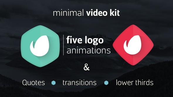 Videohive Simple Minimal Video Kit 18394308