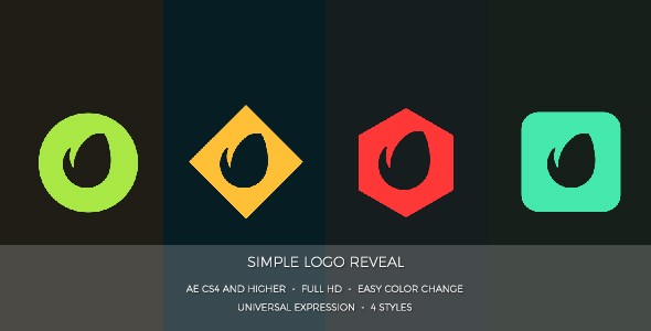 Videohive Simple Logo Reveal 17085917
