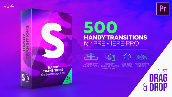 Videohive Handy Transitions For Premiere Pro 22125468
