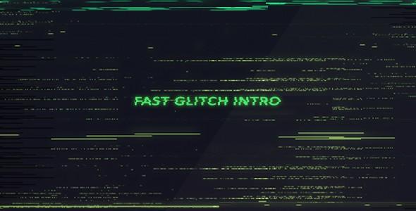 Videohive Fast Glitch Intro 15953983