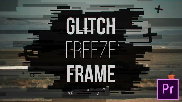 Videohive Glitch Freeze Frame 21640663 - Premiere Pro