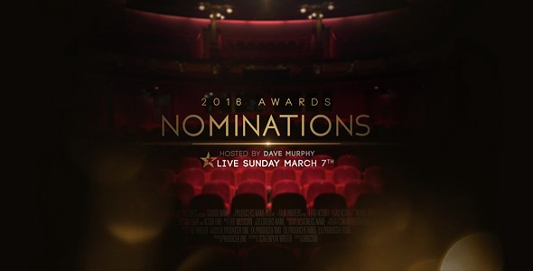 Videohive Awards Nominations Promo 15437335