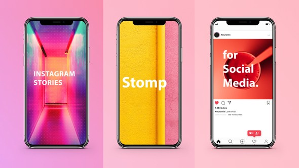 Videohive Instagram Stories Stomp 22452058