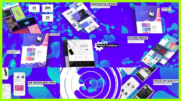 Videohive Dynamic Website / Agency Presentation 21510372