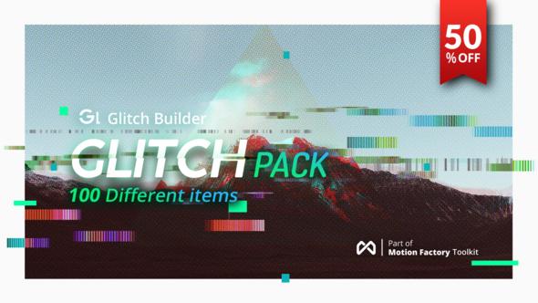 Videohive Glitch Pro | Essential Glitch Effects Pack 21858621