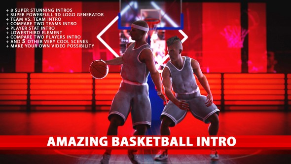 Videohive Amazing Basketball Intros 19649378