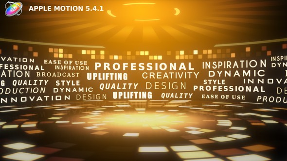 Videohive Typography Arena - Apple Motion 22243570