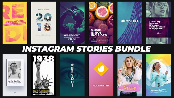 Videohive Instagram Stories Bundle 22068283