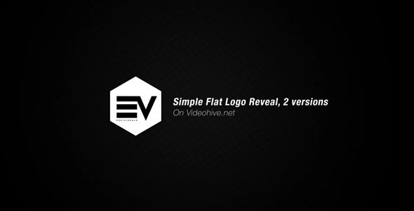 Videohive Simple Flat Logo Reveal 19759921