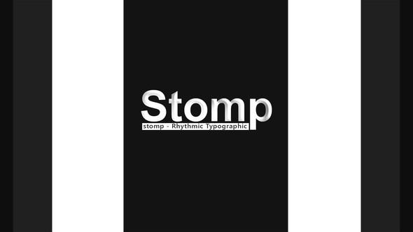 Videohive Stomp - Rhythmic Typographic 21606770